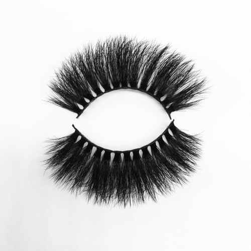 Top quality 20mm P313 style private label silk eyelash