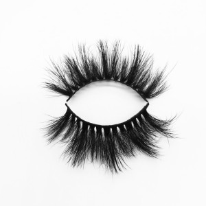 Top quality 20mm P753 style private label silk eyelash