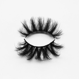 Top quality 25mm P811 style private label silk eyelash