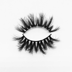 Top quality 20mm P832 style private label silk eyelash