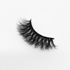 Top quality 25mm PA02 style private label silk eyelash