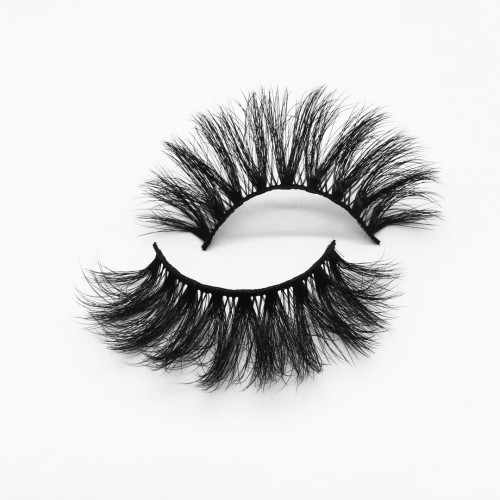 Top quality 25mm PW9X style private label silk eyelash