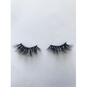 Top quality 25mm P45A style private label silk eyelash