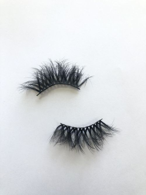 Top quality 25mm P46A style private label silk eyelash