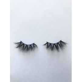 Top quality 25mm P57A style private label silk eyelash
