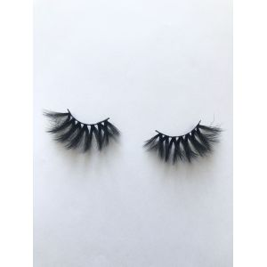Top quality 25mm P70A style private label silk eyelash
