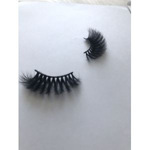 Top quality 25mm P112A style private label silk eyelash