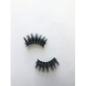 Top quality 25mm P187E style private label silk eyelash