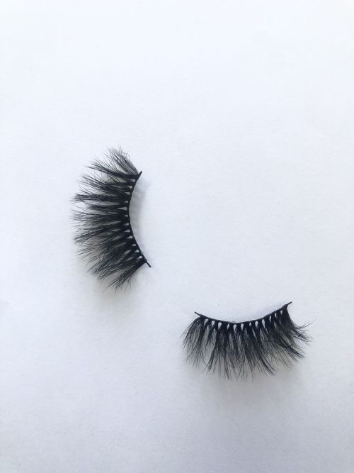 Top quality 25mm P753C style private label silk eyelash