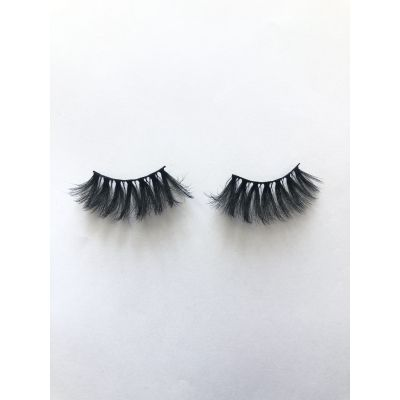 Top quality 25mm P761 style private label silk eyelash