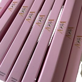 Private Label Make Up Eye Brow Pen Set Pink Box Eyebrow Pencil