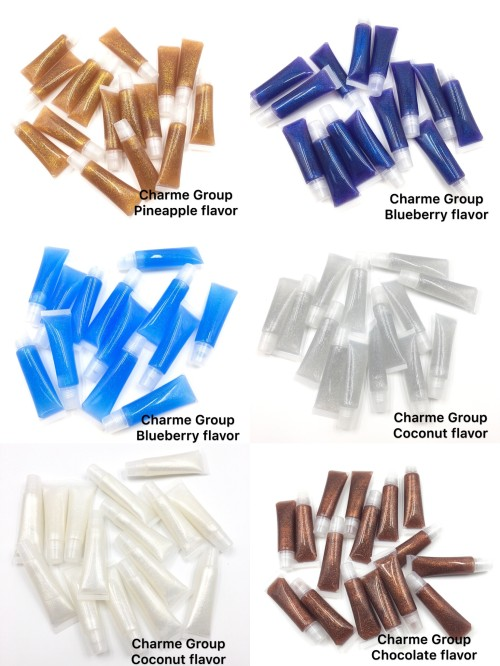 New product Charme Group private label lipgloss vendor with moisturizing the lips