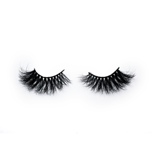 Top quality 25mm 611A style private label mink eyelash