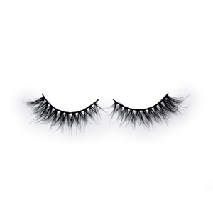 Top quality 15mm K9 style private label mink eyelash