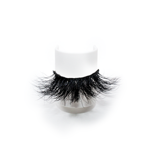 Top quality 25mm 48C style private label mink eyelash