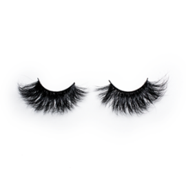 Top quality 25mm 609C style private label mink eyelash