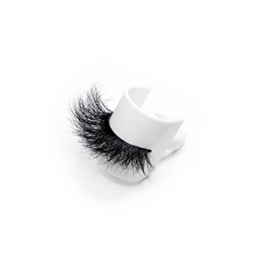 Top quality 25mm 609E style private label mink eyelash