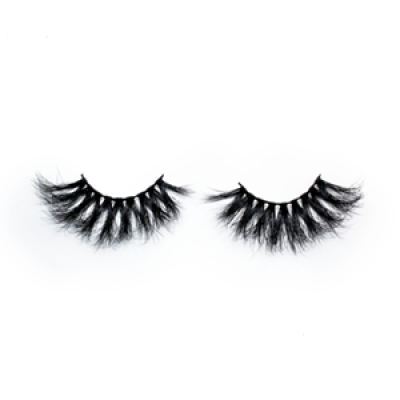 Top quality 25mm 109F style private label mink eyelash