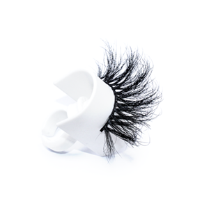 Top quality 25mm 56L style private label mink eyelash