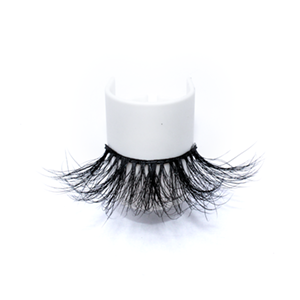 Top quality 25mm 852L style private label mink eyelash