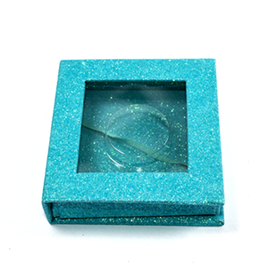 Qingdao factory top quality best price custom eyelash packaging paper plastic box with private label OEM ODM