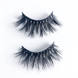 Top quality 22mm lg9056 style private label mink eyelash