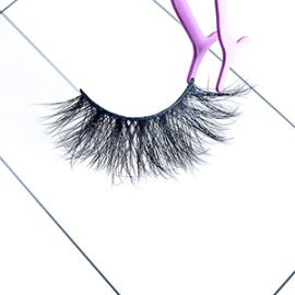 Top quality 22mm LG9804 style private label mink eyelash