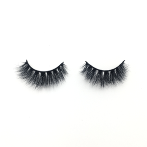 Top quality 14-18mm M008 style private label mink eyelash