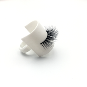 Top quality 14-18mm M010 style private label mink eyelash