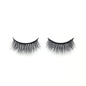 Top quality 14-18mm M015 style private label mink eyelash