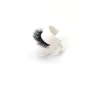 Top quality 14-18mm M106 style private label mink eyelash