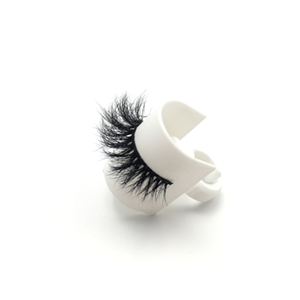 Top quality 14-18mm M611 style private label mink eyelash