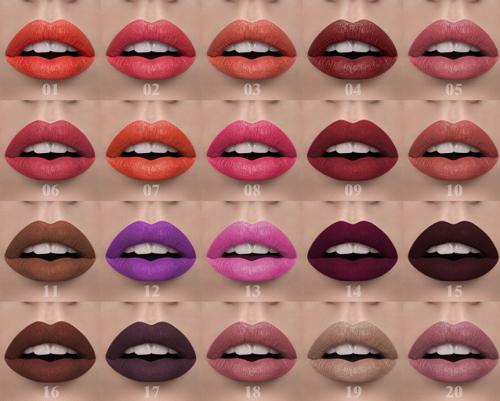 Charme Beauty private label lipstick matte gloss long lasting liquid high quality matte lipstick