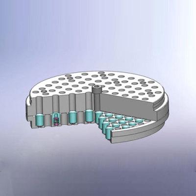 mushroom-shaped valve