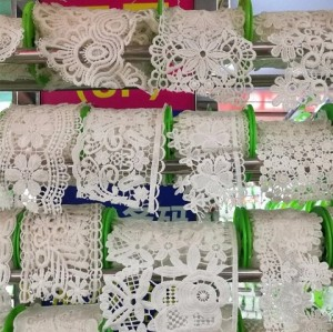 Manufacturer Wholesale Hot Sale Polyester Embroidery Trimming Lace