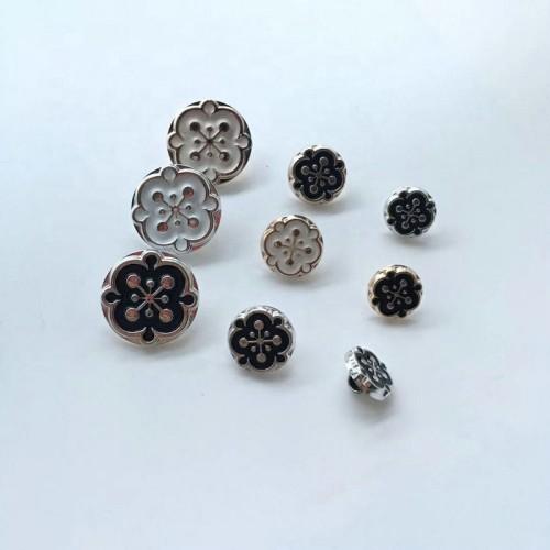 Plastic Material Shank Fancy Dress Coat Buttons Button For Coat