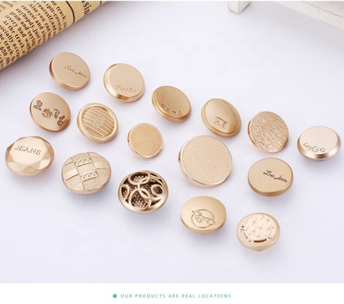 High Quality Wholesale Zinc Alloy Button Metal Buckle For Jeans