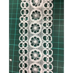 2019 new fashion embroidery lace,high quality chemical lace for decoration