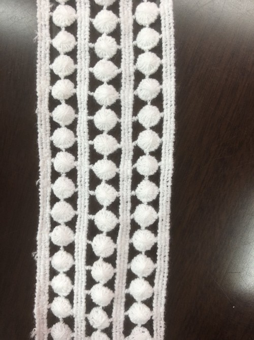 2019 new fashion  lace,high quality chemical lace for decoration