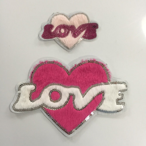 Handmade Sequin Applique Embroidery Bead Patch
