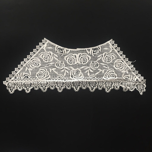 Milk Silk Collar Applique Embroidery Neck Lace Designs