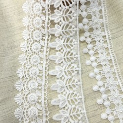 hot sale french lace wedding dress white
