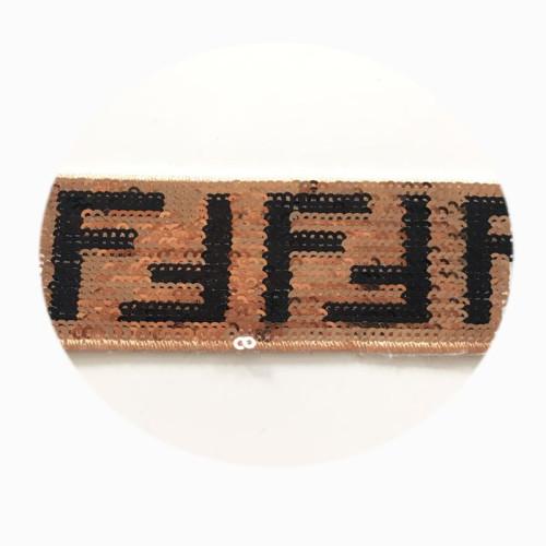 New design wholesale 4mm square lace trim decoration sequin band