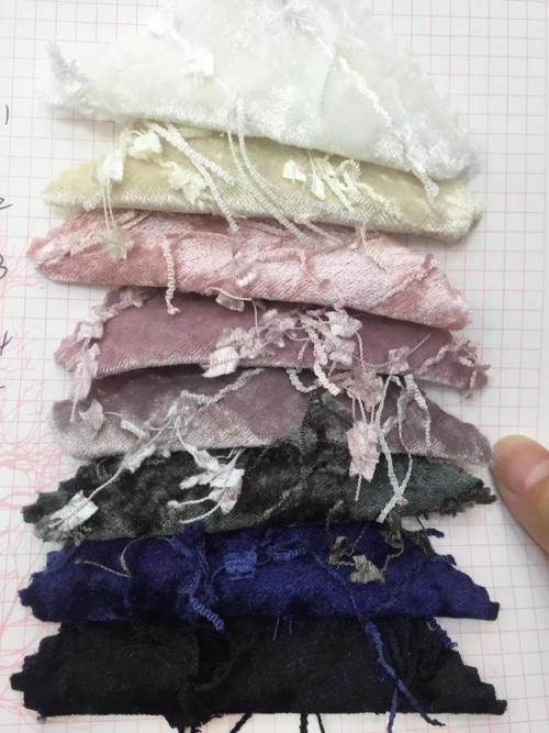 2019 New Fashion polyester faux suede fabric