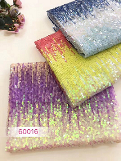 2019 new style fashion popular elegant sequin lace fabric mesh