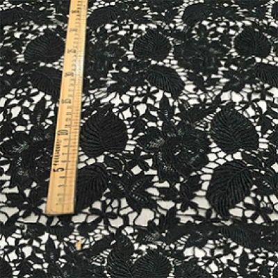 100% Polyester French Embroidery Lace Fabric 3d Floral Lace Fabric Bridal