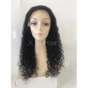 Black Color Lace Human Hair Wig NO.3