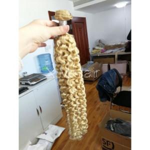 613 Color Deep Curly Hair Bundle One Bundle Deal