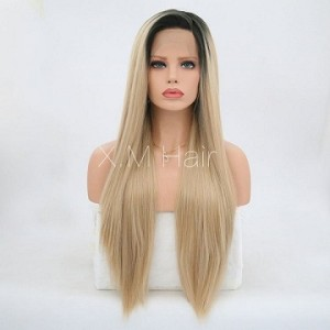 Synthetic Lace Front Wig With Natural Hairline NO.2