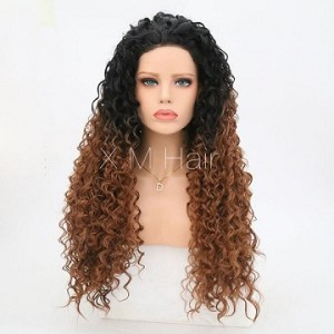 Synthetic Lace Front Wig With Natural Hairline NO.7